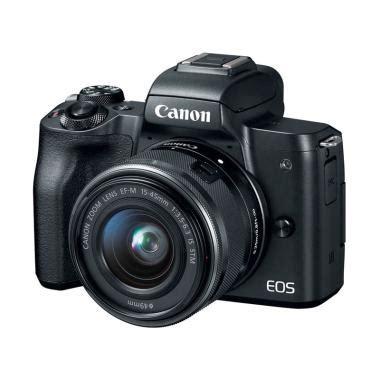 New Kamera Canon Eos M5 Lensa Kit 15 45mm Garansi Resmi Datascrip jual lensa kamera canon harga menarik blibli