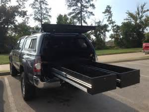 Decked Truck Bed Storage Diy Truck Vault For Tacoma Camper S I M C A H