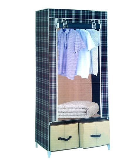 Foldable Wardrobe by Pindia Fancy Foldable Multi Color Pattern Drawer