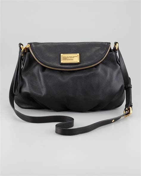 Marc Black marc by marc classic q bag black in black lyst