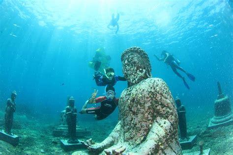 beginner scuba diving experience  lembongan island