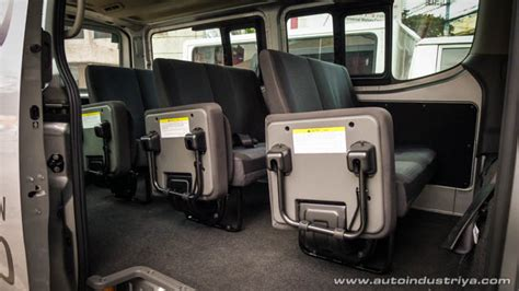 nissan urvan interior first ride 2015 nissan nv350 urvan feature stories