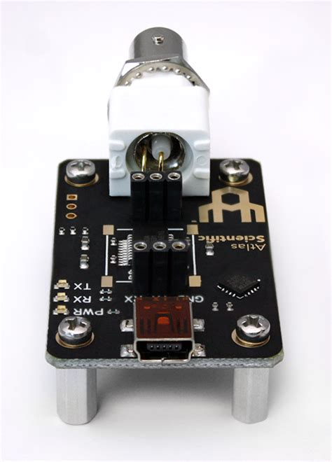 electrically isolated usb ezo carrier board atlas scientific