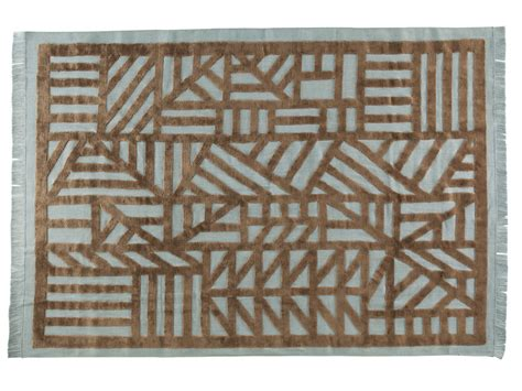 Roche Bobois Rugs by Patterned Rectangular Rug Industriel By Roche Bobois