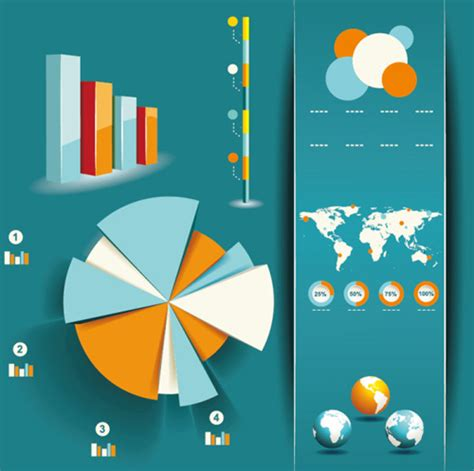 free designing best collection of free infographic design elements vector creativecrunk