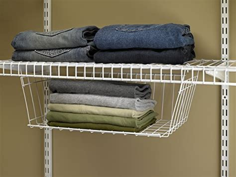 Closetmaid Hanging Basket closetmaid 6222 hanging basket for wire shelving business industrial food service food service
