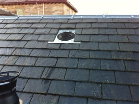 fix flasing cowl for extractor roof vent roofing job