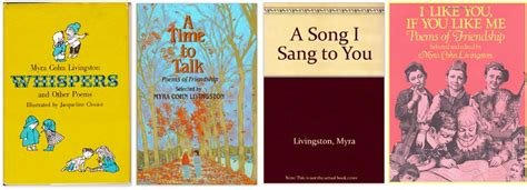 mississippi whispers books spotlight on ncte poets myra cohn livingston with