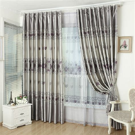 grey living room curtain ideas modern house