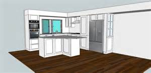 designing a kitchen with google sketchup