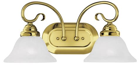 polished brass bathroom light fixtures coronado 2 light livex polished brass bathroom vanity