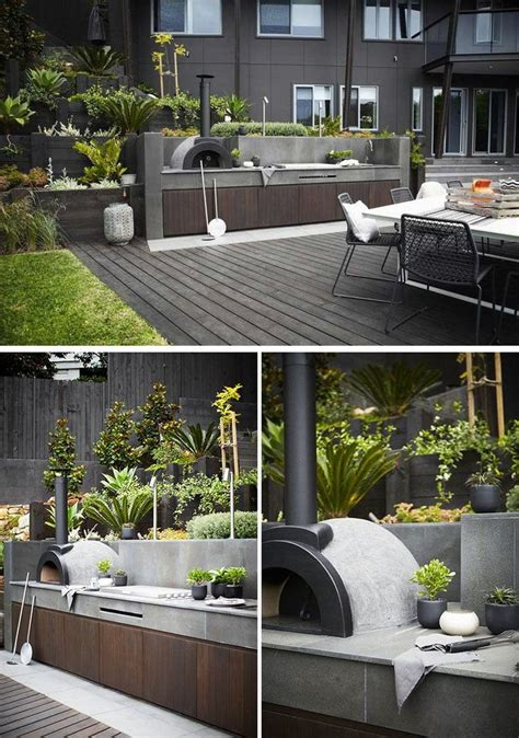 outdoor bbq kitchen ideas best 25 modern outdoor kitchen ideas on