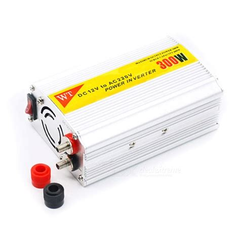 Power Inverter 12vdc To 220vac 300w Berkualitas cheap 300w 12v dc to 220v ac power inverter with connection kits