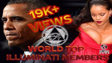 member of illuminati world top illuminati members