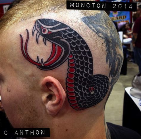 tattoo expo moncton tattoo ideas forever snake head tattoo done by chris