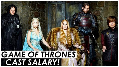 cast of game of thrones paid game of thrones cast are now the highest paid in