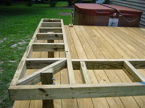 bench made from decking how to build benches on a deck click on an image to see