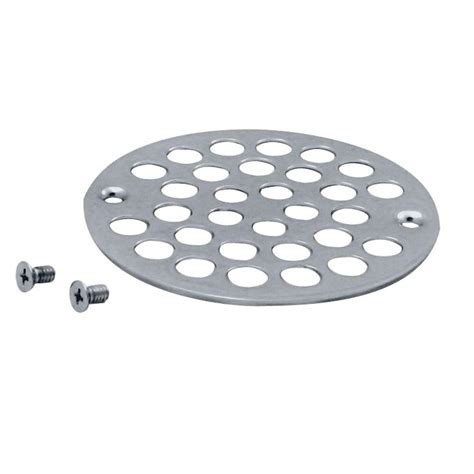 home depot square shower drain cover