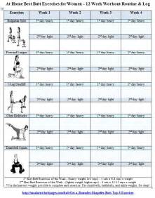 free home workout plans best butt workouts for women free printable 12 week butt