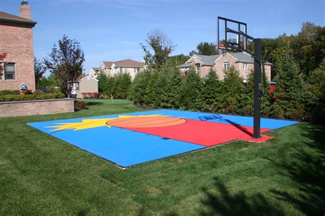 small backyard basketball court basketporn top 13 backyard basketball courts basketporn