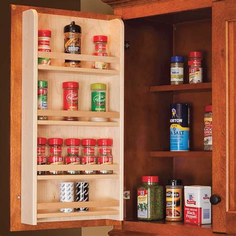 Door Mounted Spice Rack Century Components Door Mount Spice Rack 18 Quot Wide Sras18pf