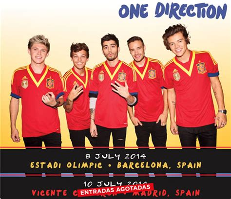 entradas de one direction entradas para los conciertos de one direction where we