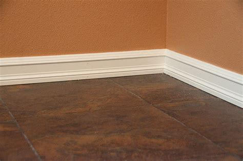 trim baseboard picking materials for baseboard and window trim