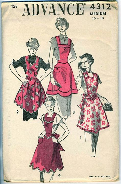 pattern ng apron 39 best vintage aprons images on pinterest aprons apron