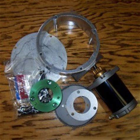 gpl basic electric starter kit  rotax    damper