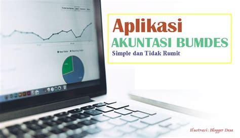 Aplikasi Akuntansi Untuk Bumdes infodes