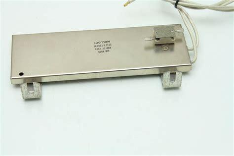 brake resistor motor mdllq115 servo motor braking resistor srf t 1300 watt 27 ohm ebay