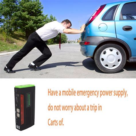 emergency boat battery charger 68800mah jump starter emergency car auto power bank