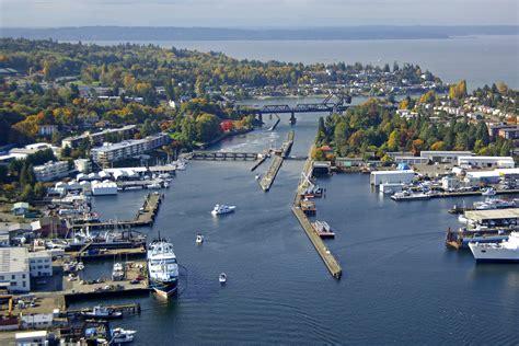 boat slip lake union lake union lock in seattle wa united states lock