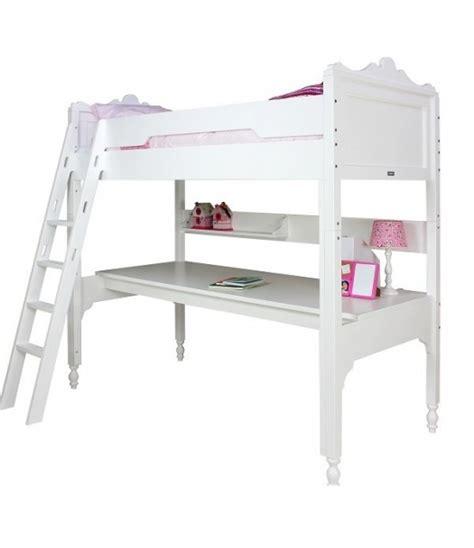 letto soppalco con scrivania alto letto a soppalco bianco bopita cameretta di pippi