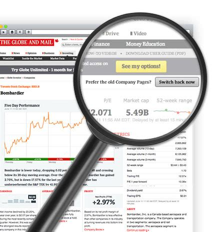 Enerflex Ltd. Stock Quote - The Globe and Mail Globe And Mail Stock Quote