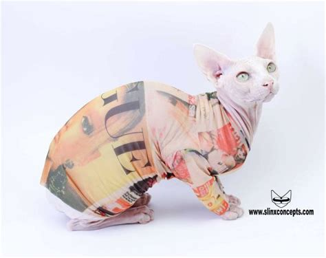 cat tattoo wylie sphynx cat clothes in vogue by tattcat long sleeve tattoo