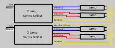series ballast wiring 4 ls electrical 101