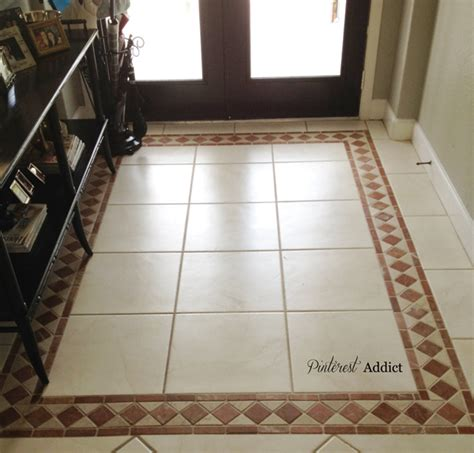 Front Entrance Tile Ideas Painting Floor Tile Addict