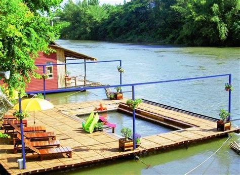 Raft Cabins by Boutique Raft Resort River Kwai Sai Yok Compare Deals