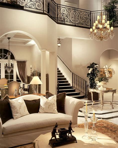 Beautiful Luxury And Elegant Home Decoration Furnishings And Room | beautiful interior by causa design group grand mansions