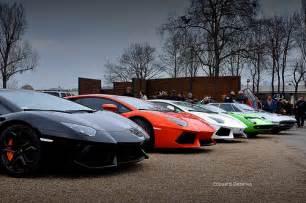Lamborghini Up Lamborghini Line Up Aventador Miura Jamara Flickr