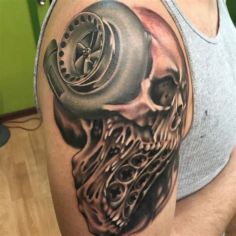 car enthusiast tattoo tattoos skull tattoo bnginksociety on instagram
