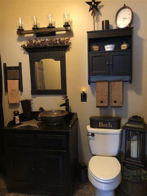 primitive bathroom primitivebathrooms bathroom decor