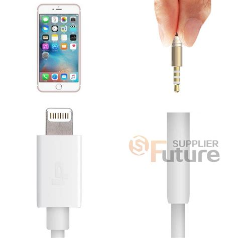 Conventer Iphone Sambungan Earphone Iphone 7 Plus Kabel Konektor apple iphone 7 7 plus lightning to 3 5mm earphone adapter