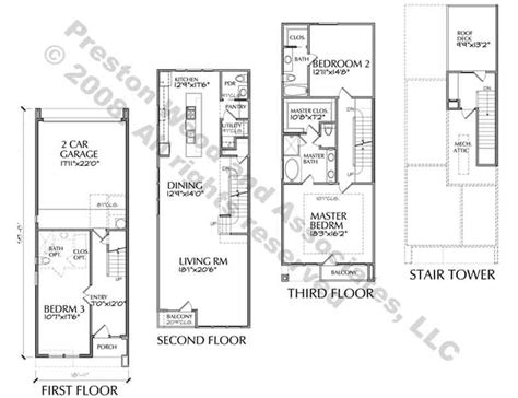 urban townhouse floor plans urban row house plans quotes