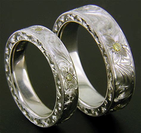 unique wedding bands with beautiful designs the wedding