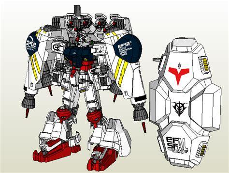 Gundam Papercraft Pdf - mazinga worldpapermodel rx 78gp02a gundam physalis