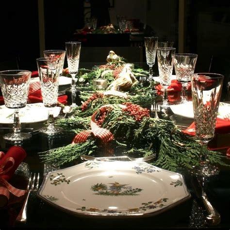 christmas dinner table designcorner