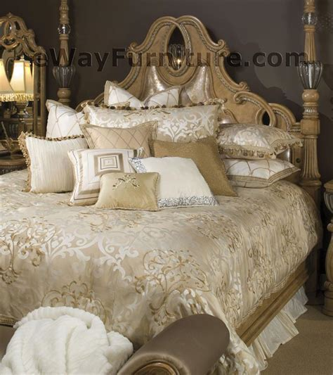 Aico Bedding Sets Luxembourg Bedding Set By Aico