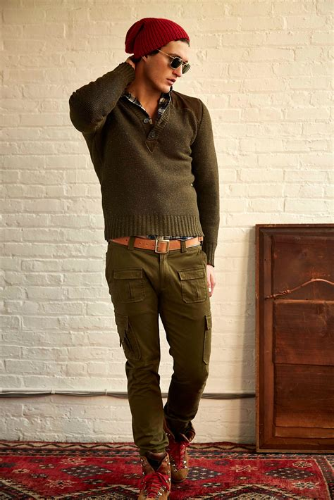 menswear denim winter 2015 trends preppy urban hipster in michael bastian fall winter